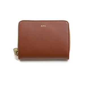 [ブランド]A.P.C.(アーペーセー)  [付属品]紙タグ 布袋 [カラー]ブラウン [素材]レザ...