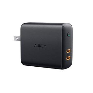 AUKEY 急速充電器 アダプタ fwall charger 30W Power Delivery3...