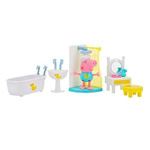 Peppa Pig Little Rooms Spa Playset