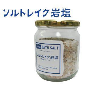 バスソルト ソルトレイク岩塩 400g【3個以上で送料無料】|shq-1