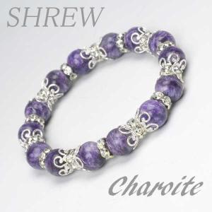 パワーストーン ブレスレット10mm チャロアイト|shrew-y
