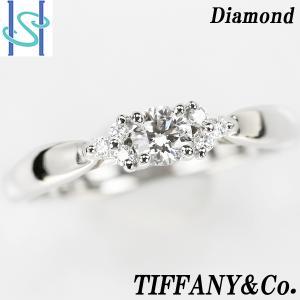 【SH48616】ティファニー ダイヤモンド ハーモニーリング プラチナ950【中古】|sht-ys