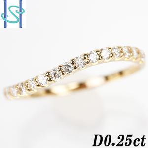 【SH54475】ダイヤモンド リング 0.25ct K18イエローゴールド【中古】|sht-ys