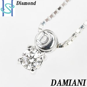 【SH54639】ダミアーニ DAMIANI ダイヤモンド ネックレス K18ホワイトゴールド 箱付き 保証書付き【中古】|sht-ys