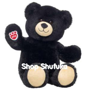 ビルドアベア ぬいぐるみ テディベア 38cm くま クマ 黒 ギフト プレゼント Lil Night Sky Cub 日本未入荷 Build A Bear Work Shop|shu-fu-ka