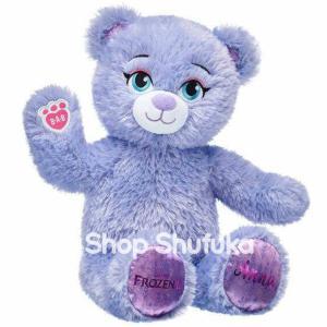 ビルドアベア アナと雪の女王2 アナ ぬいぐるみ パープル ディズニー アメリカ限定 日本未販売 Disney Frozen 2 Anna Inspired Bear|shu-fu-ka