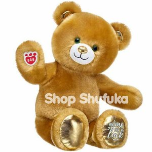 ビルドアベア ラッキーハグ テディベア くま ふわふわ ぬいぐるみ ブラウン グッドラックベアー ギフト プレゼント クマ Good Luck Build A Bear|shu-fu-ka