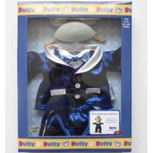 60周年記念限定 ダッフィー ぬいぐるみ コスチューム Sサイズ 43cm カリフォルニア ディズニーランド 箱入り テディベア くま 衣装 仮装 プレゼント|shu-fu-ka