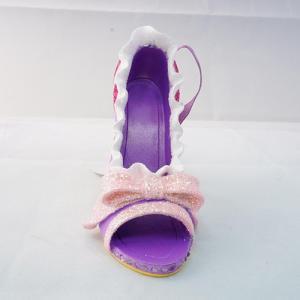 ディズニー ラプンツェル プリンセス シューオーナメント アメリカ正規店購入 靴 シューズ オーナメント ハイヒール Disney Shoe Ornament WDW|shu-fu-ka