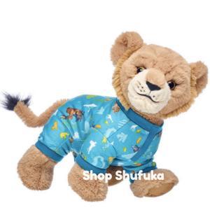 ビルドアベア ライオンキング シンバ 衣装 パジャマ ぬいぐるみ 犬 ワンちゃん 動物 洋服 つなぎ コスチューム 仮装 ハロウィン|shu-fu-ka