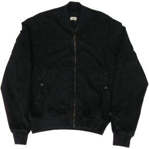 デニム&サプライ ラルフローレン MA-1 スウェット ジャケット 黒 ブラック DENIM&SUPPLY 002|shufflestore