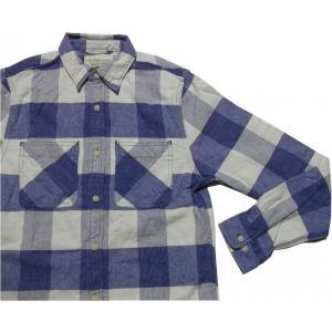 デニム&サプライ 長袖 チェックシャツ ブルー ラルフローレン DENIM&SUPPLY 009 shufflestore