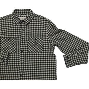 デニム&サプライ 長袖 チェックシャツ ブラック ラルフローレン DENIM&SUPPLY 016 shufflestore