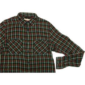 デニム&サプライ 長袖 チェックシャツ グリーン ラルフローレン DENIM&SUPPLY 017 shufflestore