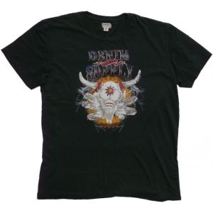 デニム&サプライ 半袖 プリント Tシャツ チャコール ラルフローレン DENIM&SUPPLY 026 shufflestore
