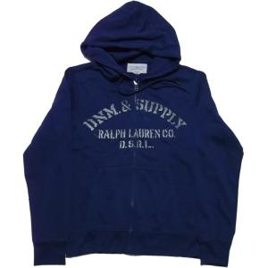 デニム&サプライ スウェットパーカ ネイビー ラルフローレン DENIM&SUPPLY 029 shufflestore