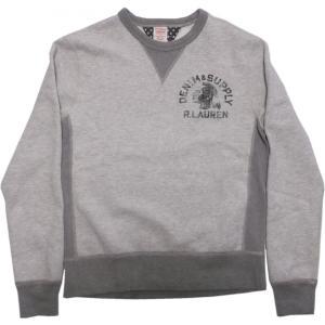 デニム&サプライ スウェットシャツ グレイ ラルフローレン DENIM&SUPPLY 052|shufflestore