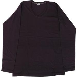 エントリーSG ハロプラス ENTRY SG 長袖 Uネック Tシャツ ブラックベリー HALO PLUS BLACK BERRY 154