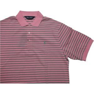 ポロゴルフ ラルフローレン ワンポイント 半袖 ピマコットン ポロシャツ ピンク POLO GOLF 020|shufflestore