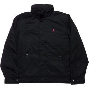 ラルフローレン ワンポイント 中綿ジャケット 黒 ブラック Polo Ralph Lauren 002|shufflestore