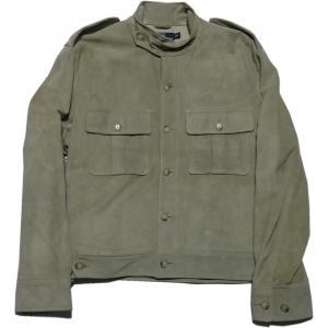ラルフローレン 本革製  レザージャケット スエード ライダース ベージュ Polo Ralph Lauren 040|shufflestore