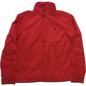 ラルフローレン ワンポイント 中綿ジャケット レッド Polo Ralph Lauren 060|shufflestore
