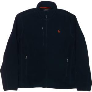 ラルフローレン ワンポイント フリースジャケット 紺 ネイビー Polo Ralph Lauren 062|shufflestore