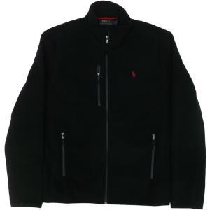 ラルフローレン ワンポイント フリースジャケット 黒 ブラック Polo Ralph Lauren 088|shufflestore