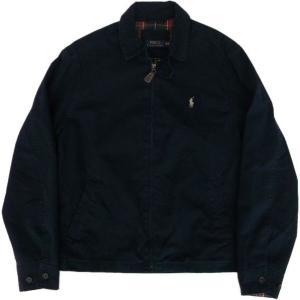 ラルフローレン ワンポイント スイングトップ ジャケット コットン 紺 ネイビー Polo Ralph Lauren 091|shufflestore
