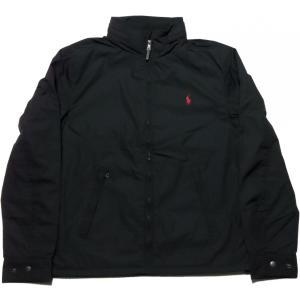 ラルフローレン ワンポイント 中綿ジャケット 黒 ブラック Polo Ralph Lauren 101|shufflestore