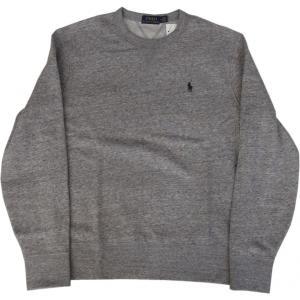 ラルフローレン ワンポイント スウェットシャツ グレイ Polo Ralph Lauren 086|shufflestore