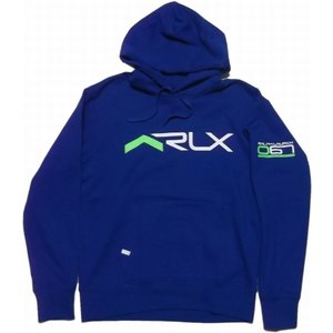 RLX ラルフローレン スウェットパーカ プリント ブルー Ralph Lauren 247|shufflestore