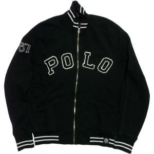 ラルフローレン スウェットシャツ フルジッパー 黒 ブラック Polo Ralph Lauren 513|shufflestore