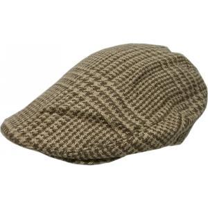 ラルフローレン ハンチングキャップ 帽子 リネン シルク ブ...