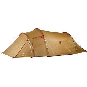 カマボコ型のシンプルなテント。アウトフレーム構造ですので、シェルターとしても利用でき、多様なシーンに...