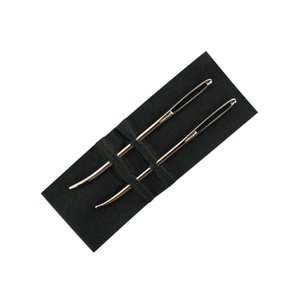 編み物 あみもの用品 編み物用具 極太毛糸用カーブ針|shugale1