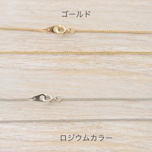 ネックレスチェーン(金具付)キヘイ1.2×1.9mm ヒキワ・板ダルマ40cm | 日本製 国産 キヘイ チェーン 喜平 ネックレス セット アクセサリー|shugale1
