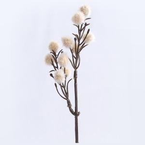 クラフト フラワー フェイクドライフラワー ポロン オフホワイト|サンセイ|フェイクフラワー|ドライフラワー|花材|ボタニカル|キット|期間限定SALE|