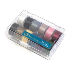 ビーズステッチ糸 One-G 12色セット PT-1001 |ビーズ ステッチ糸 TOHO One-G 専用糸 ハンドメイド|shugale1