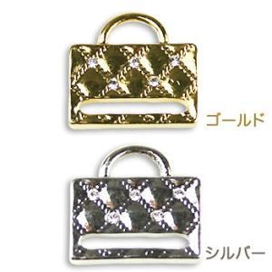ビーズ パーツ・チャーム ステッチ金具K4535 ゴールド・シルバー|shugale1