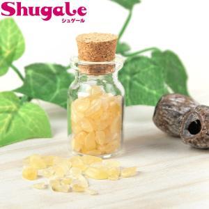 天然石 ビーズ 瓶入りタンブルチップス アラゴナイト shugale1