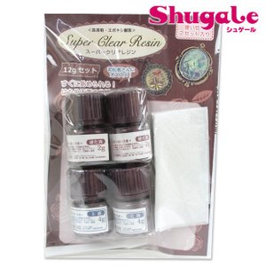 粘土 用具 型取り・注型材料 スーパークリアレジン 12g