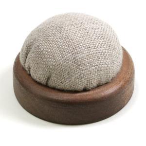 リーベアレス ピンクッション 小|Liebe alles ソーイング 裁縫 道具 ツール 日本製 国産 木製 麻|shugale1