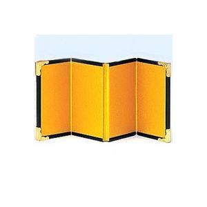 金屏風 4曲 NF−4006 サイズ(約):縦15×横10cm(横は1辺の長さです。4辺合わせると4...