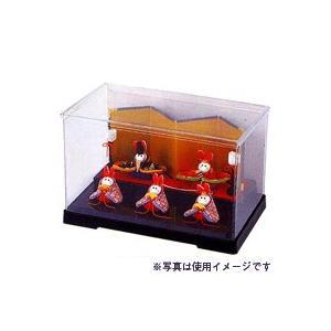 クラフト 副資材 お飾り用品 プラスチックケース バック紙付 パナミ/PC-7|shugale1