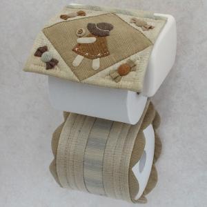クラフト パッチワークキルト スーのインテリア小物 トイレットペーパーカバー|shugale1