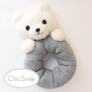クラフト ソーイング・布手芸 ベビーキット Chic smile 白くまにぎにぎキット shugale1