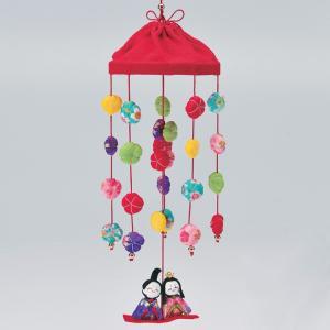 京ちりめん 花傘つるし雛 LH-149 | 手芸キット ちりめんキット ひなまつり ひな祭り 和調 つるし雛 吊るし飾り 女の子 桃の節句 縁起物|shugale1