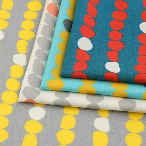nina キヴィ ソフリーシャーティング (1m単位)|切売り 生地 布 布地 服地 綿 コットン 綿100 北欧 北欧柄 ニーナ|shugale1