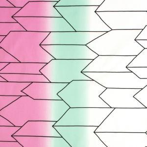 矢絣 グラデーション ブロード(1m単位)|切売り 切り売り 生地 布 布地 矢絣 ブロード グラダーション 綿 コットン 100 話題の和柄|shugale1